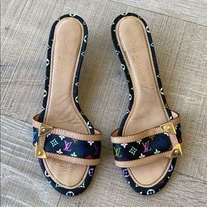 Louis Vuitton Murakami sandals - size 37.5
